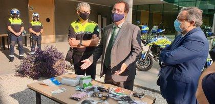 Intervenidas en dos naves de Sevilla 665.000 mascarillas con logos falsificados y que incumplen normas de seguridad