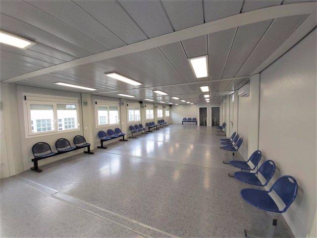 Imagen de la sala de Urgencias del hospital Juan Ramón Jiménez de la capital