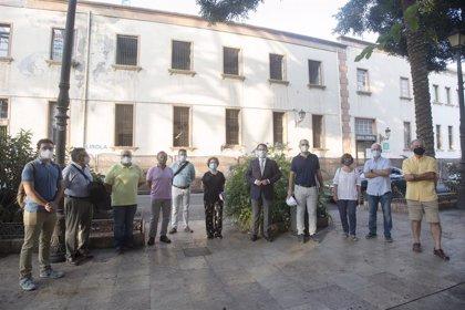 Recuperan el acceso ajardinado original del Hospital Provincial desde el Parque Nicolás Salmerón