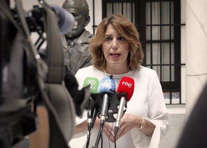 """Susana Díaz exige a Moreno que le devuelva a la educación pública """"lo que le ha quitado"""" y rechaza """"cortina de humo"""""""