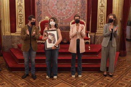"""Chivite subraya la apuesta por """"una tierra plural y diversa"""" en la entrega del premio de diseño 'Navarra de colores'"""