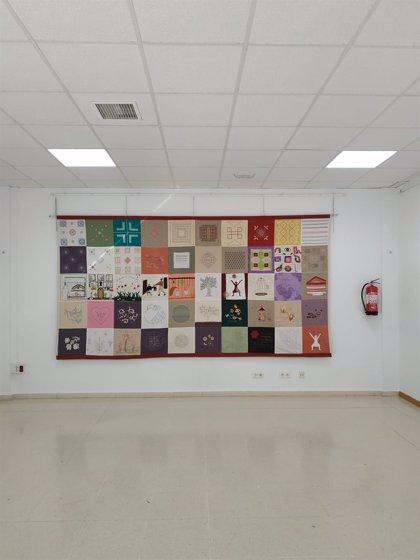 El Museo Etnográfico 'Pérez Enciso' de Plasencia expone un tapiz hecho por una veintena de mujeres en el confinamiento