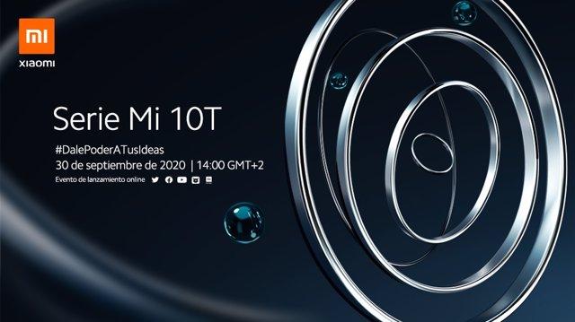 Xiaomi presentará sus smartphones de la Serie Mi 10T el 30 de septiembre