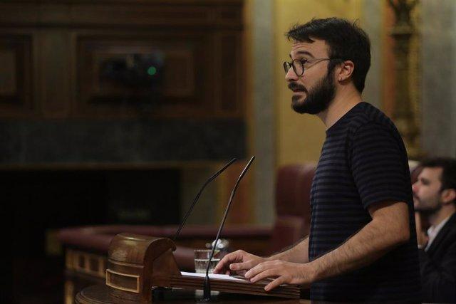 Batet retira la palabra a un diputado de la CUP por acusar al Congreso de censur