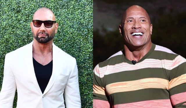 "Dave Bautista carga contra Dwayne 'The Rock' Johnson: ""No le considero buen actor"""