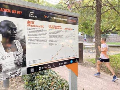 Valencia Ciudad del Running reta a los aficionados a correr a la velocidad de Joshua Cheptegei