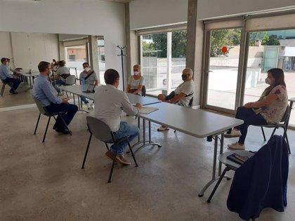 Hila traslada su apoyo a las asociaciones de las zonas de Arxiduc, plaça de Toros, Son Fortesa sud y Son Oliva