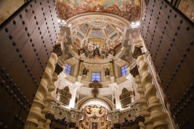 Interior de San Luis de los Franceses