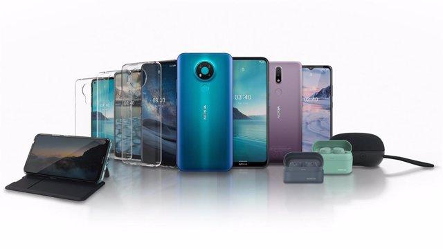 Los nuevos Nokia 2.4 y Nokia 3.4 miran hacia sus raíces nórdicas para una propue