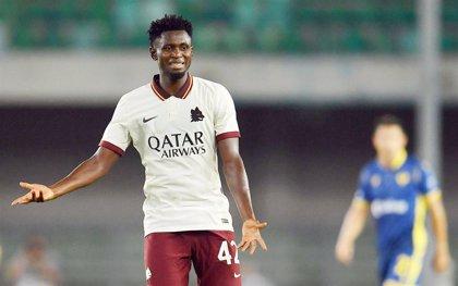 La Roma pierde 3-0 su partido ante el Verona por alineación indebida de Diawara