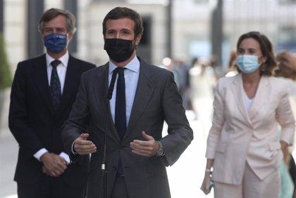 """El PP ve """"intolerable"""" que Pedro Sánchez se salte la sesión de control del Congreso pese a cancelarse la cumbre europea"""