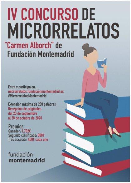 Se abre el plazo para participar en el IV Concurso de Microrrelatos de Fundación Montemadrid