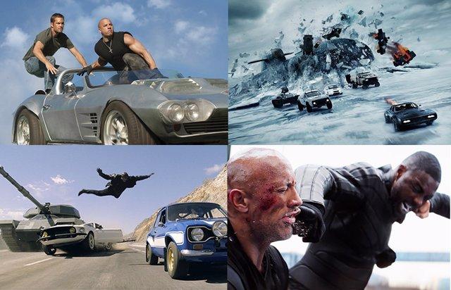 Todas las películas de Fast & Furious (A todo gas) ordenadas por su presupuesto