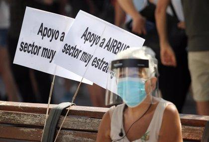 Unidas Podemos urge al Gobierno a paralizar el ERE en Airbus y aprobar un plan de choque en el sector aeroespacial