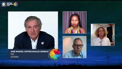Entrecanales (Acciona) cree que la consecución del 72% de los ODS requiere de inversiones en infraestructuras