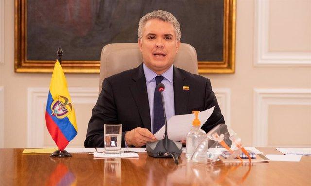 """Colombia.- Duque acusa a Maduro de """"sostener al narcotráfico"""" y pide a la ONU re"""