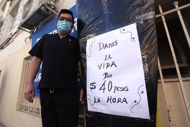 Coronavirus.- Argentina registra un segundo récord de muertes consecutivo con 47