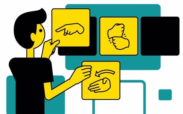 CNSE ofrece un curso online de gramática de Lengua de Signos