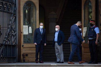 Torra llega al TSJC para declarar por una segunda causa por presunta desobediencia