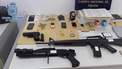 Desarticulada una violenta banda que robó dos joyerías en Madrid, llevándose 40.000€ en varias piezas