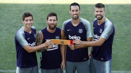 """Sergi Roberto: """"Cruzaba los dedos para que Messi se quedase"""""""