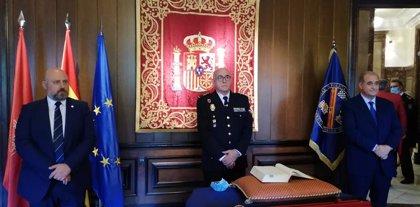 """José María Borja, nuevo jefe de Policía de Navarra, apuesta por la """"cooperación con todos los estamentos policiales"""""""