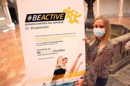 La Diputación de Córdoba fomenta la práctica deportiva a través del programa 'Be Active'