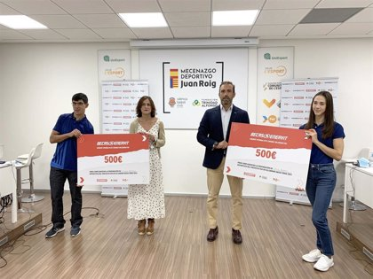 """Entregadas las becas Enervit para """"hacer visibles en la sociedad"""" a 28 deportistas de la Comunidad Valenciana"""