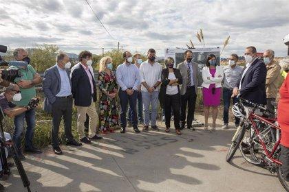 Comienzan las obras del último tramo del carril bici Santander-Camargo