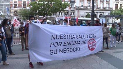 Estudiantes concluyen la segunda jornada de huelga reivindicando una docencia presencial para garantizar la igualdad
