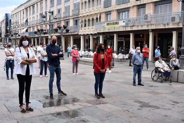 Concentración en Ciudad Real por la muerte de Nancy Paola.