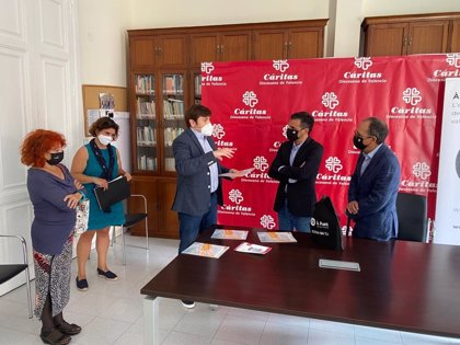 Punt y Cáritas colaborarán en iniciativas de interés público por la inclusión social