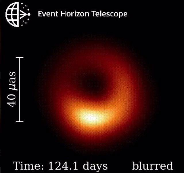 El primer agujero negro captado en imagen se tambalea
