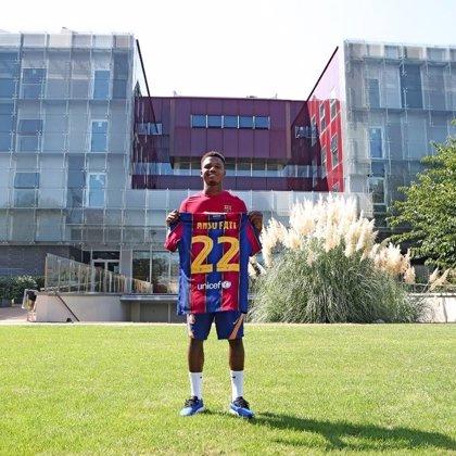 Ansu Fati, ficha del primer equipo y cláusula de 400 millones