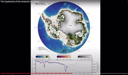 Alto riesgo de deshielo en un chequeo a la estabilidad de la Antártida