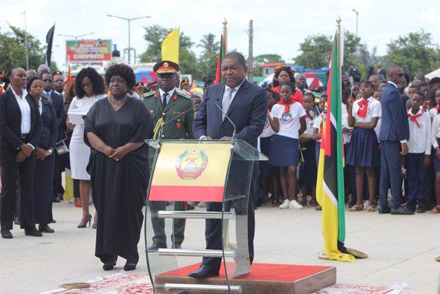 Mozambique.- Nyusi da la bienvenida a toda iniciativa que ayude a Mozambique en