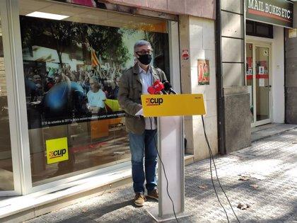 """La CUP constata la desunión independentista ante la inhabilitación: """"No nos hacemos responsables"""""""