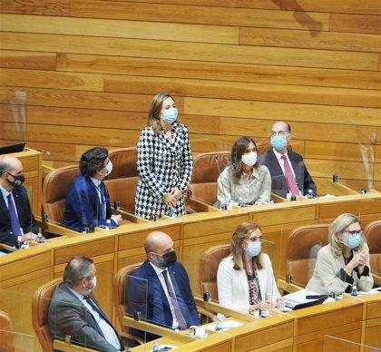 """El pleno cierra con otra nueva diputada del PP y un recordatorio a sus señorías: """"no se hacen fotos en el hemiciclo"""""""