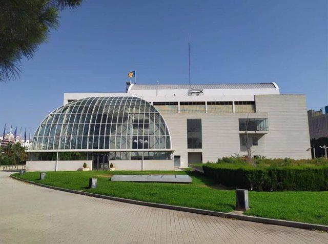 Façana del Palau de la Música (arxiu)