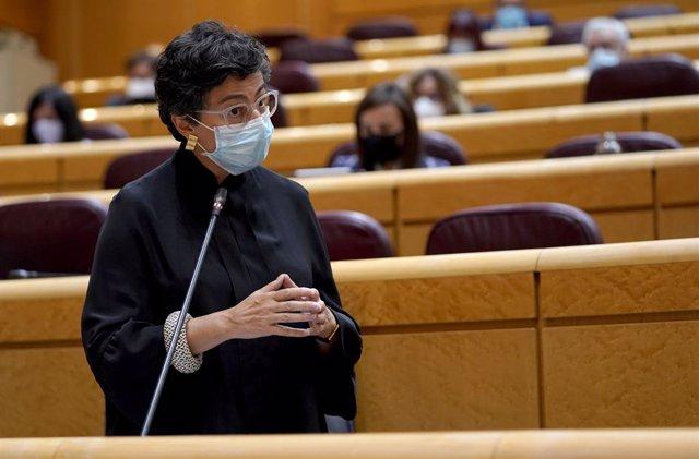 González Laya apoya al TPI y apuesta por medidas para mitigar los efectos de las