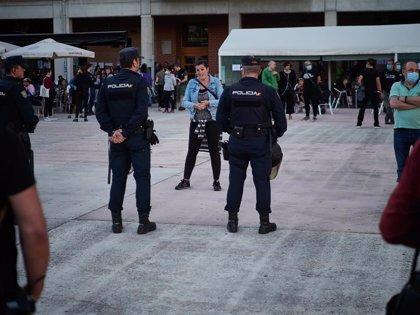 Interior garantiza el despliegue de 222 policías solicitados por Madrid sin que afecte a otros servicios de seguridad
