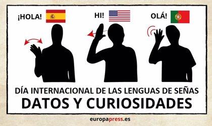 Día Internacional de las Lenguas de Señas: ¿Cuántas lenguas de signos hay? ¿Existe una universal?