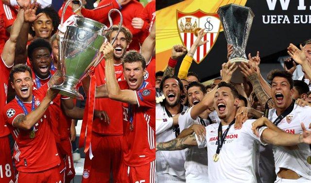 Fútbol/Supercopa.- Previa del Bayern Múnich - Sevilla