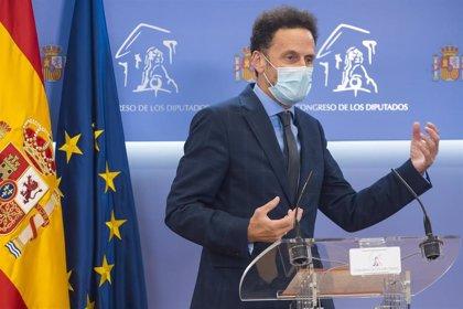 """Bal (Cs) asegura que el Gobierno sería """"partícipe"""" del delito si concede indultos a presos catalanes"""
