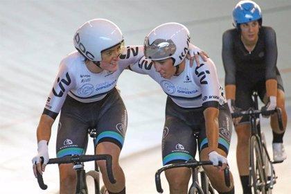 Isasi, Calvo, Cañellas y Teruel, primeros campeones de España de ciclismo en pista