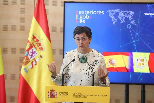 UE.- España estudiará con atención el nuevo pacto de migración y pide plena soli