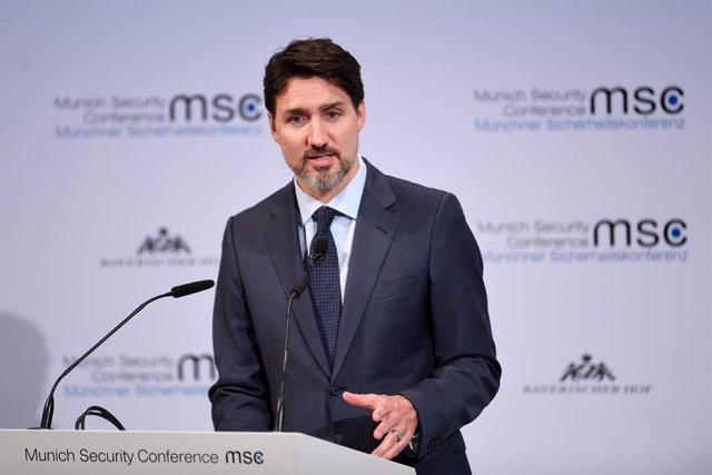 "Coronavirus.- Trudeau dice que una segunda ola de contagios por coronavirus ""ya"