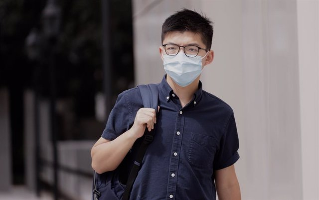 China.- El activista hongkonés Joshua Wong, detenido por las protestas de 2019
