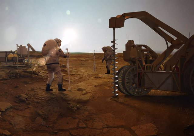 ¿Puede haber vida en el interior profundo de Marte?
