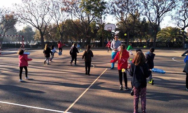 Imagen de recurso de actividad física escolar